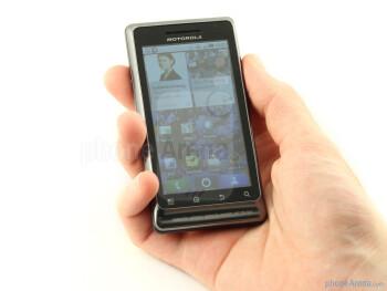 The Motorola MILESTONE 2 has great build quality - Motorola MILESTONE 2 Review