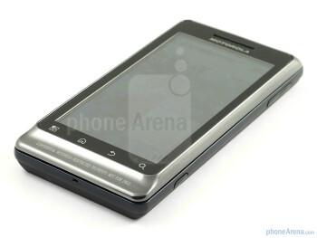 The phone has a 3.7 inch display - Motorola MILESTONE 2 Review