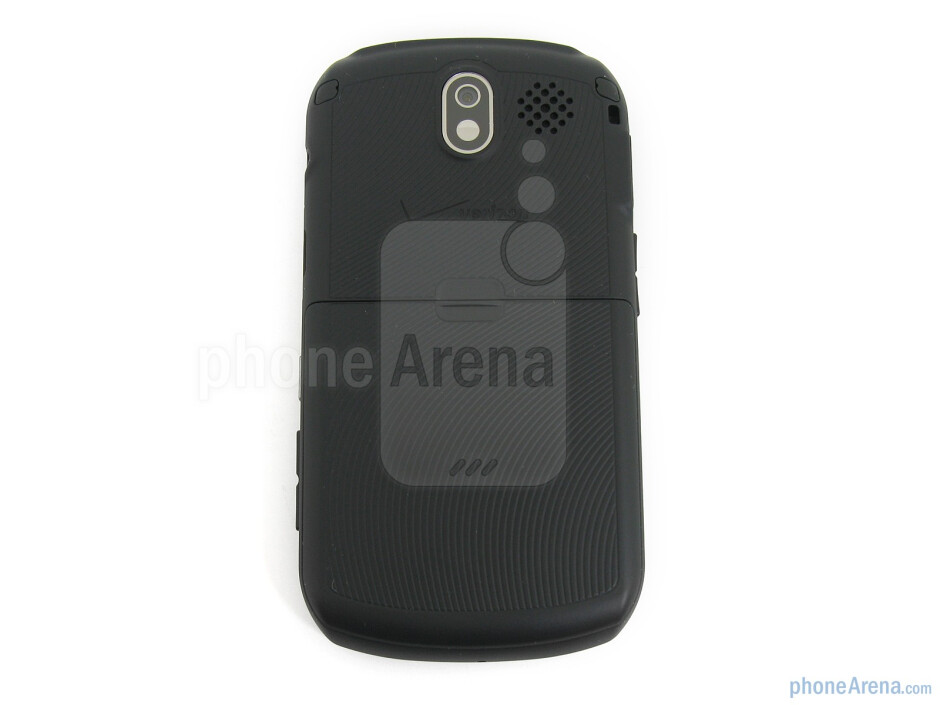 The back hosts the 3MP camera and external speaker - Pantech Crux Review