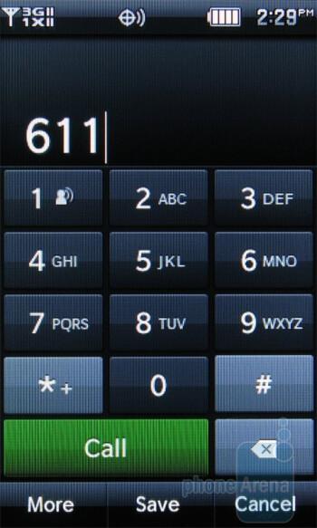 Dialer - Phonebook - Pantech Crux Review