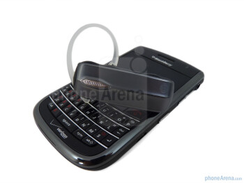 The Motorola Command One has plastic gunmetal colored construction - Motorola Command One Review