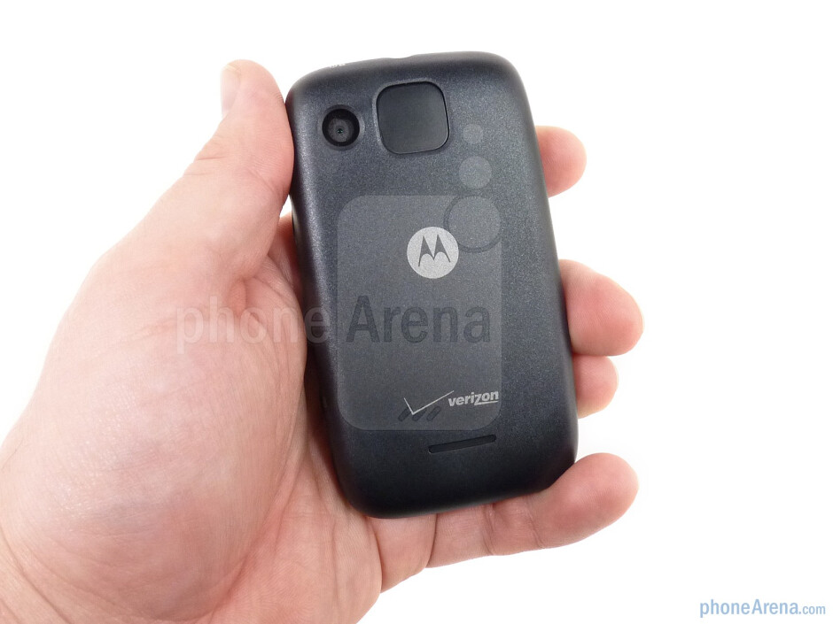 The Motorola CITRUS is an eco friendly phone, made out of recycled plastics - Motorola CITRUS Review