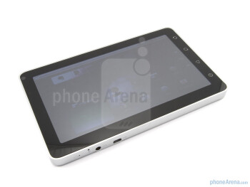 The device has a 7 inch screen - ViewSonic ViewPad 7 Review