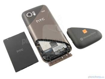 Back - HTC 7 Mozart Review