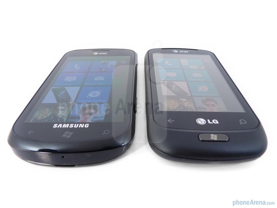 Viewing angles - LG Quantum vs Samsung Focus