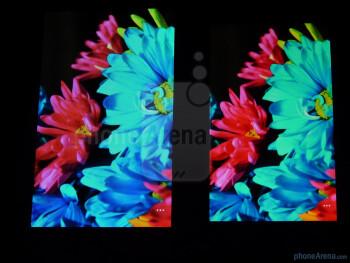 The LG Quantum (R) and the Samsung Focus (L) - LG Quantum vs Samsung Focus