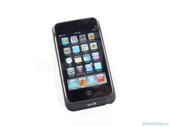 The ZTE Peel is a Wi-Fi-enabled case for your second or third generation iPod touch - Sprint ZTE Peel Review