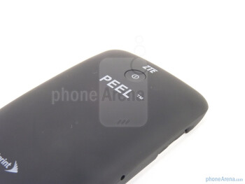 The sides of the ZTE Peel - Sprint ZTE Peel Review