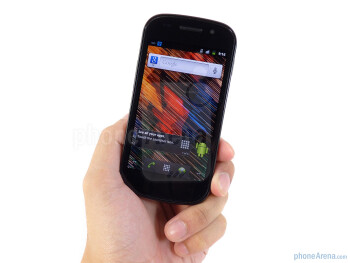 The all plastic body of the Google Nexus S does well in keeping it extremely light and streamlined - Google Nexus S Review