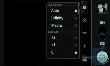 Camera intreface - Google Nexus S Review