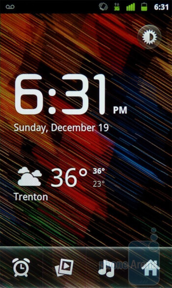 The clock app - Google Nexus S Review