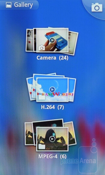 The Gallery app - Google Nexus S Review