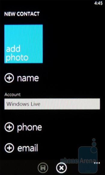 "The address book is blended with the ""People"" Hub - Dell Venue Pro Review"