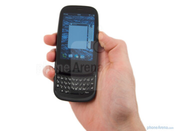 The Palm Pre 2 has a pebble like design - Palm Pre 2 Review