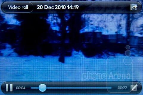 Video playback - Palm Pre 2 Review