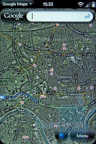 Google Maps - Palm Pre 2 Review