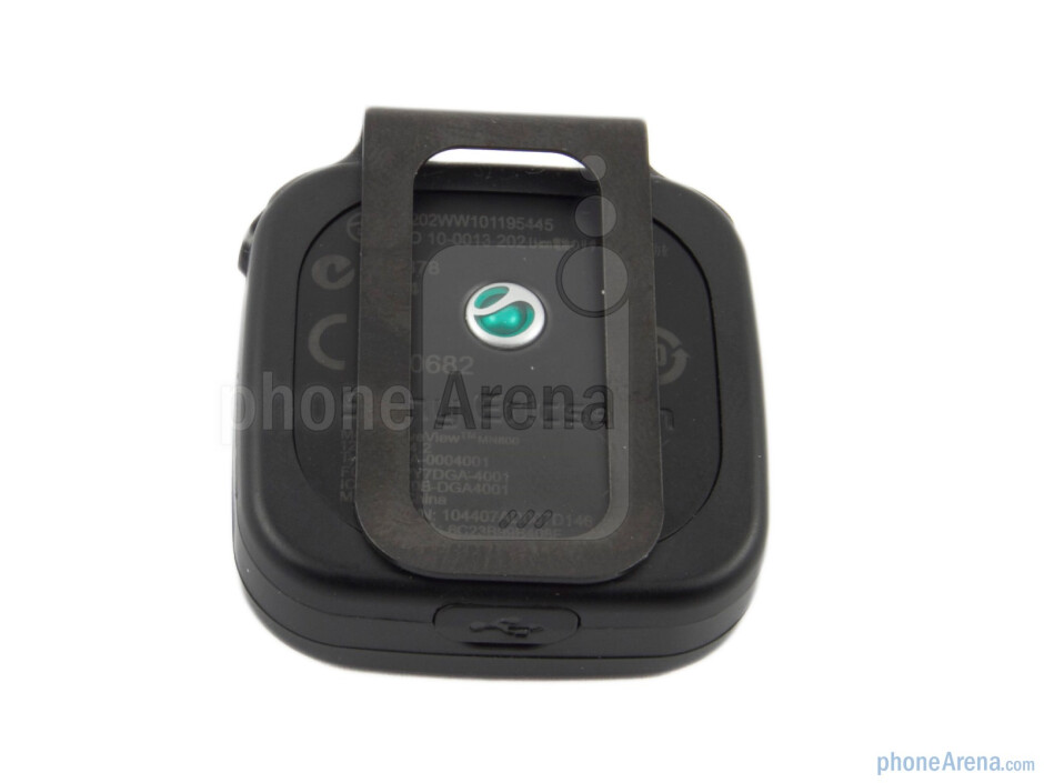 The Sony Ericsson LiveView is a compact device - Sony Ericsson LiveView Review