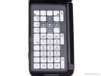 The phone has special e-ink keyboard - Samsung Zeal Review