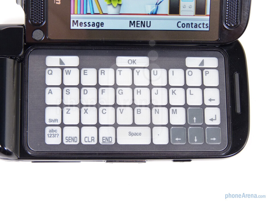 The QWERTY keyboard - Samsung Zeal Review