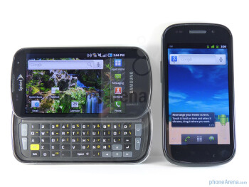 Google Nexus S vs Samsung Epic 4G