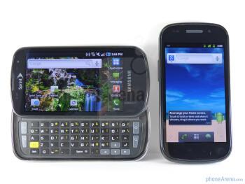 Google Nexus S vs Samsung Epic 4G
