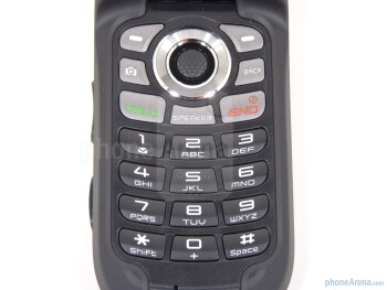 The Sanyo Taho sports a traditional 12 key keypad - Sanyo Taho Review
