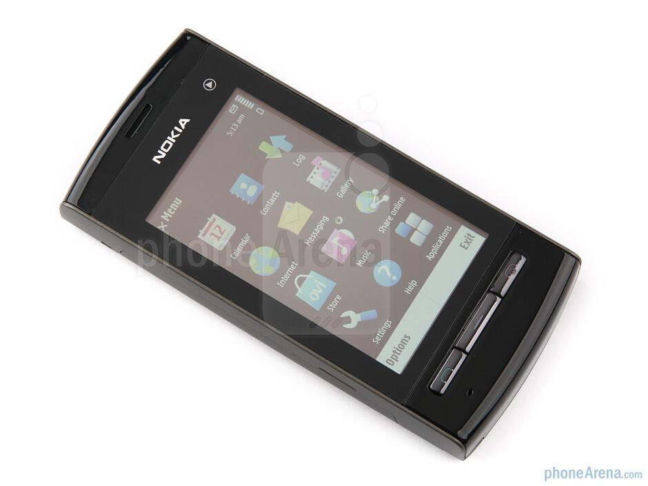 The Nokia 5250 has a 2.8-inch resistive screen - Nokia 5250 Review