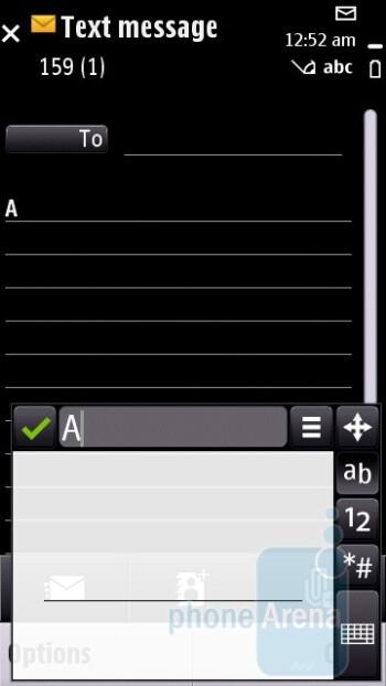Messaging - Nokia 5250 Review
