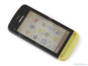 The sides of the Nokia C5-03 - Nokia C5-03 Review