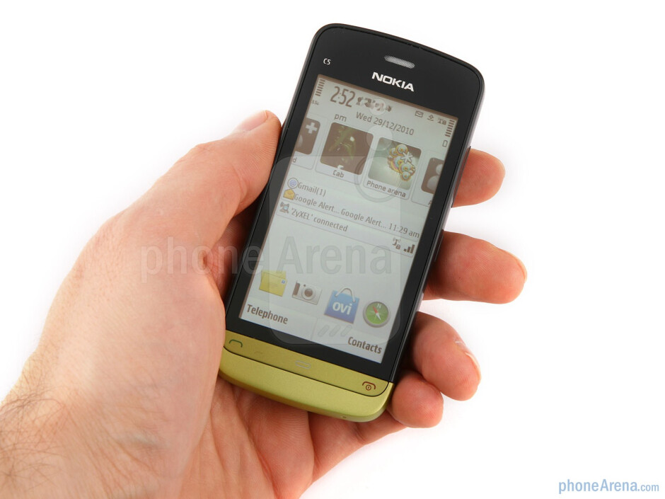 The Nokia C5-03 comes in a variety of color combinations - Nokia C5-03 Review