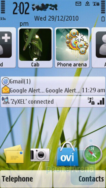 The Symbian 9.4 S60 5th Edition on board - Nokia C5-03 Review