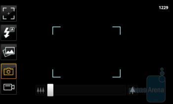 Camera interface - Acer Liquid Metal Review