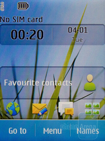 The Nokia C3 Touch and Type runs S40 - Nokia C3 Touch and Type Review