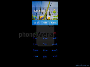The screen looks pretty vibrant and detail is good - Nokia C3 Touch and Type Review