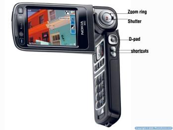 3-megapixel camera-phones comparison: D900, K800, N73, N80, N93