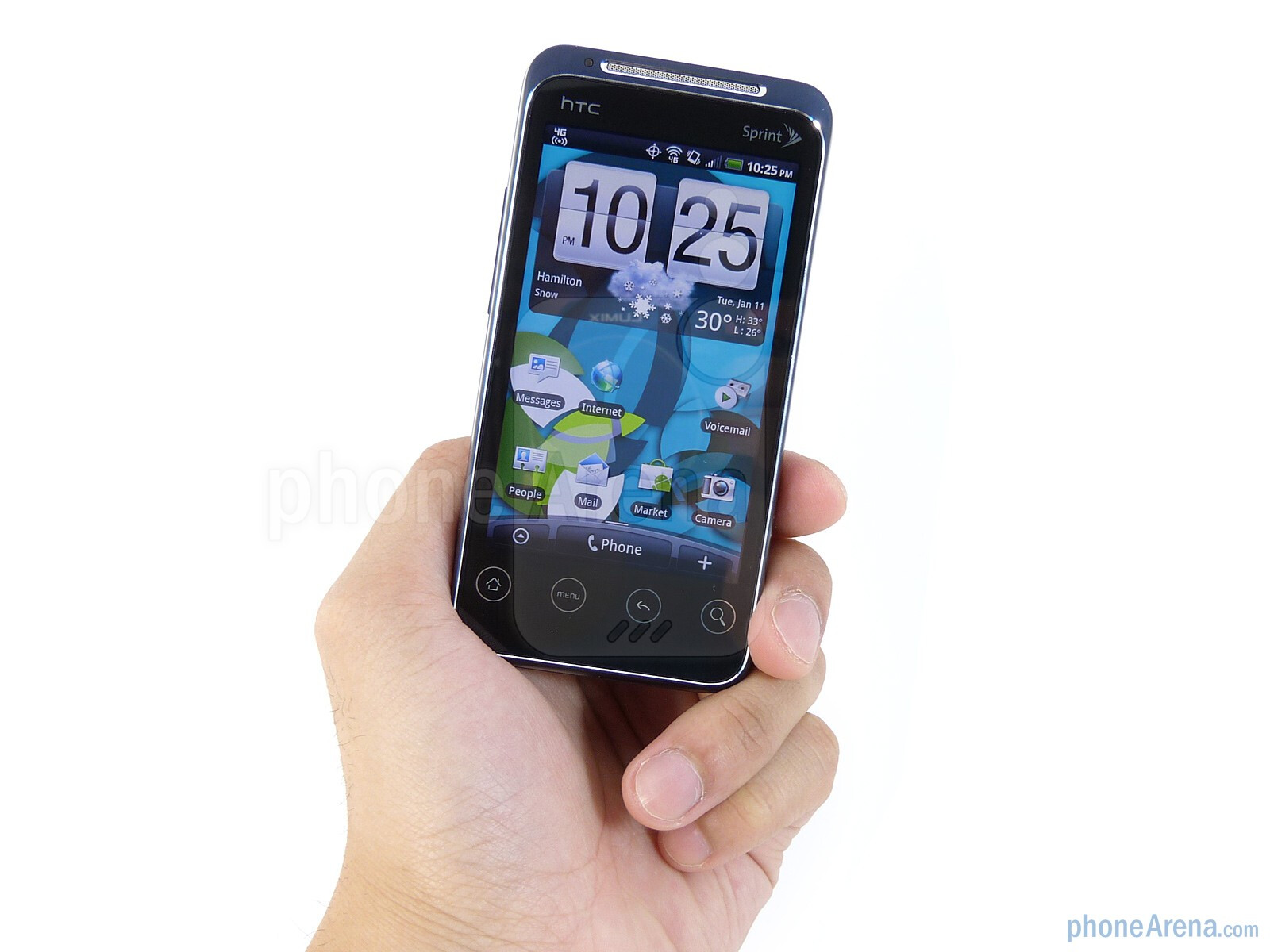 The EVO Shift 4G exudes an impeccable industrial design and quality  construction - HTC EVO Shift