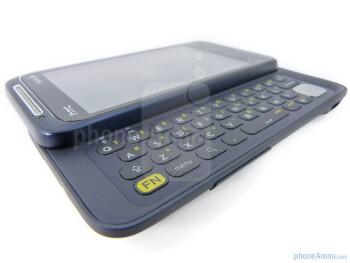 The QWERTY keyboard of the HTC EVO Shift 4G - HTC EVO Shift 4G Review