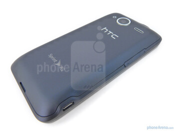 Back - HTC EVO Shift 4G Review