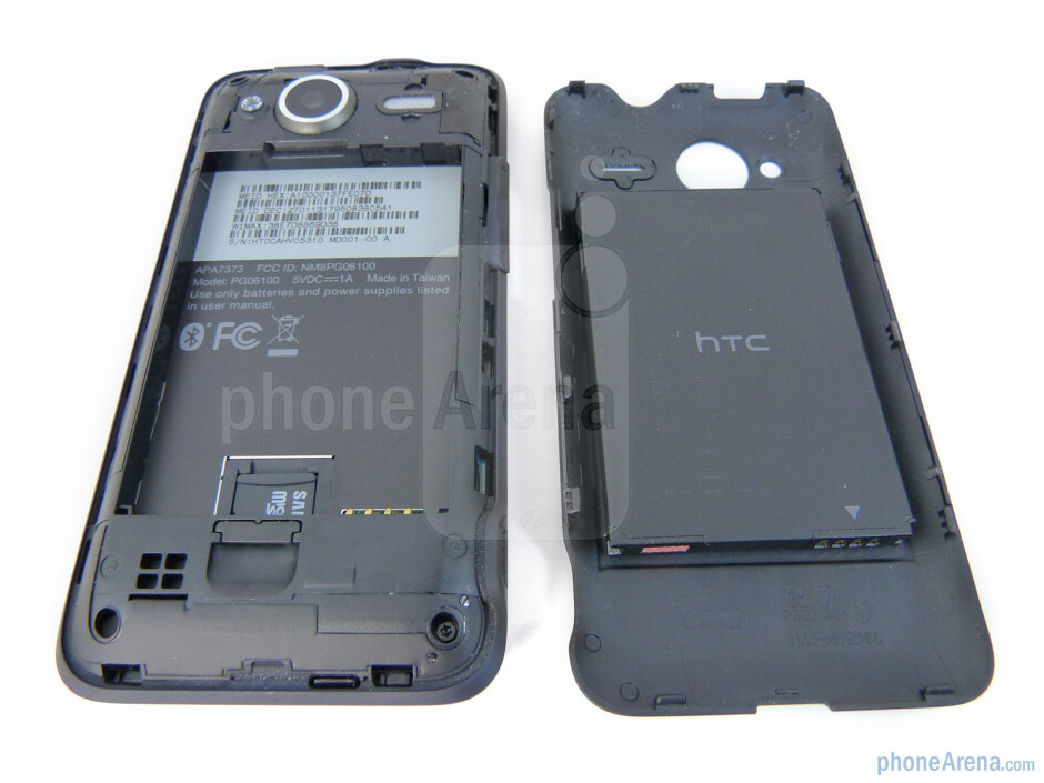Back - HTC EVO Shift 4G Review