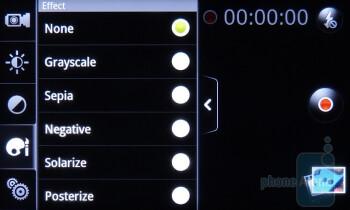 Camera interface - HTC EVO Shift 4G Review