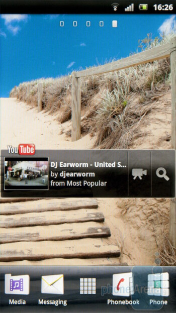 The UX interface of the Sony Ericsson Xperia arc - Sony Ericsson Xperia arc Review