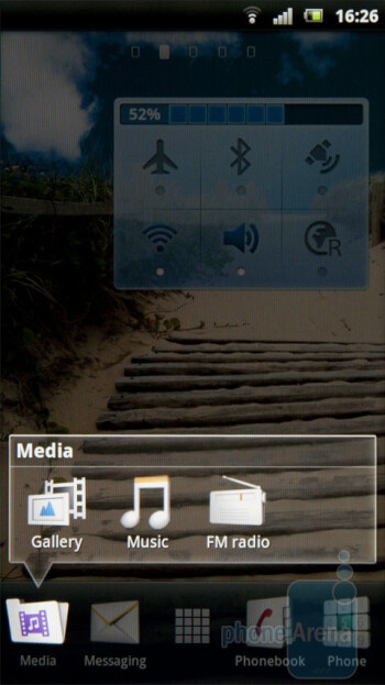 Media - The UX interface of the Sony Ericsson Xperia arc - Sony Ericsson Xperia arc Review