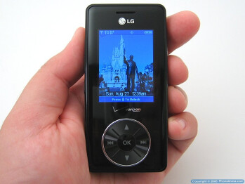 LG VX8500 Chocolate Review