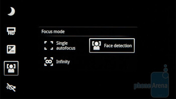 Camera interface - Sony Ericsson Xperia arc Review