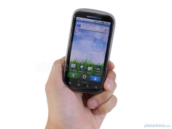 The Motorola CLIQ 2 boasts a remarkable upgrade in construction over the toy-ish plasticy CLIQ - Motorola CLIQ 2 Review
