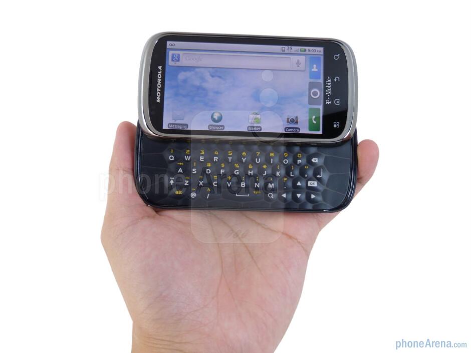 The Motorola CLIQ 2 boasts a remarkable upgrade in construction over the toy-ish plasticy CLIQ - Motorola CLIQ 2 Review