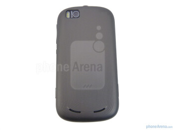The back side of the Motorola CLIQ 2 - Motorola CLIQ 2 Review