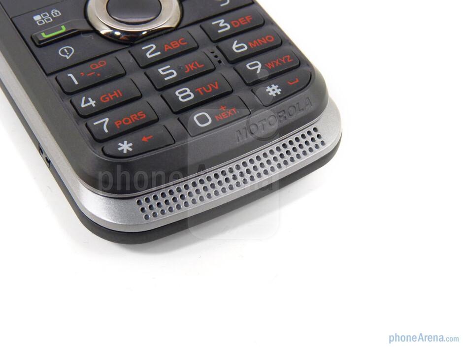 Speaker - Motorola i886 Review
