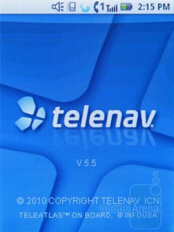 Telenav - Motorola i886 Review
