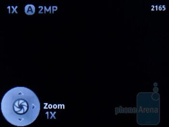Camera interface - Motorola i886 Review